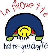 Logo Halte-garderie La Pirouette